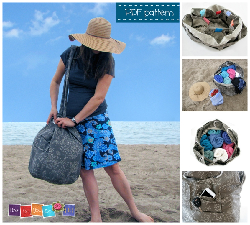 beach bag sewing pattern