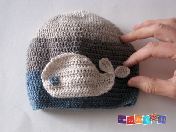 81whale ombre hat(thin)