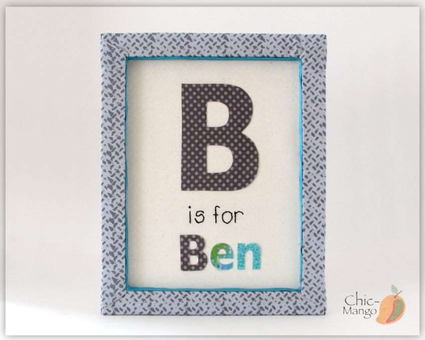 B is for Ben name sign