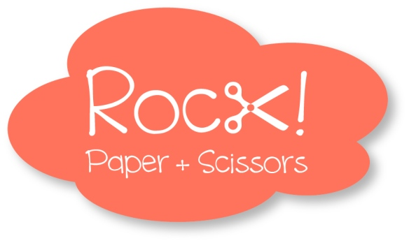 Rock! paper+scissors. DIY, designs and thoughts