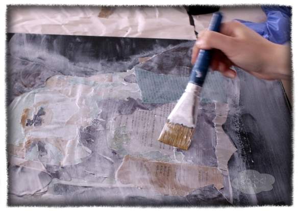 kook apply glue