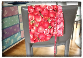 pomegranate apron