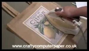 fabric transfer youtube screenshot