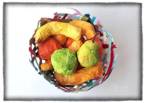paper mache fruit basket2